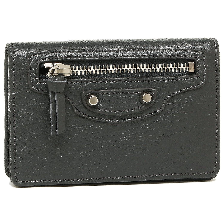 バレンシアガ カードケース BALENCIAGA 477453 D940N 1110 CLASSIC CARD CASE レディース 名刺入れ 無地 GRIS FOSSILE [並行輸入品] B079BDBQQD