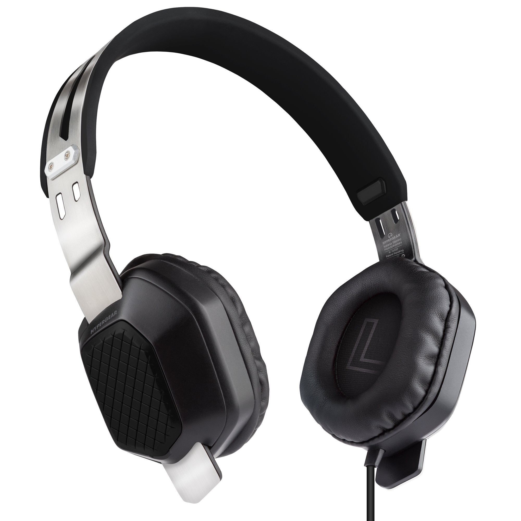 HyperGear Katana High Definition Headphones w/Mic 3.5mm Black