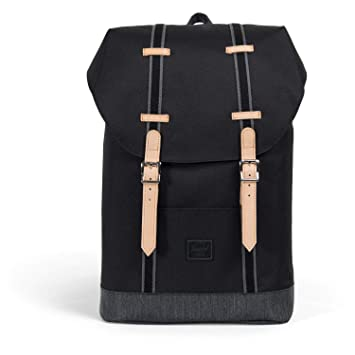 Herschel Offset Retreat Mid-Volume Mochila 13? Negro: Amazon.es: Deportes y aire libre