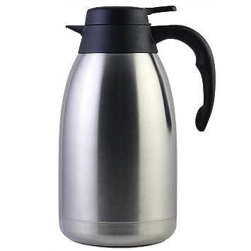 Termo para Café - Cresimo / en Acero Inoxidable / Doble Panel Al Vacío / 12 Horas de Retención de Calor / 2 Litros
