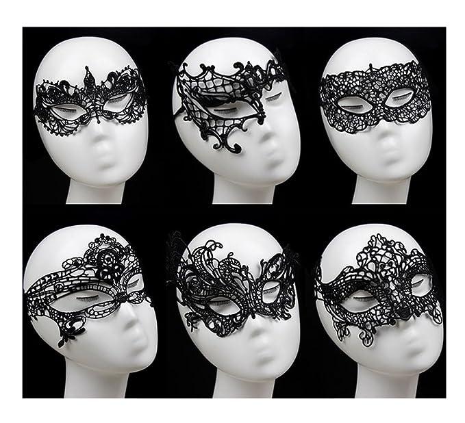 Black lace mask sexy