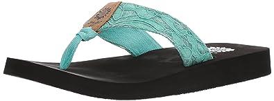 52801756f Amazon.com  Yellow Box Women s Amina Flip-Flop  Shoes