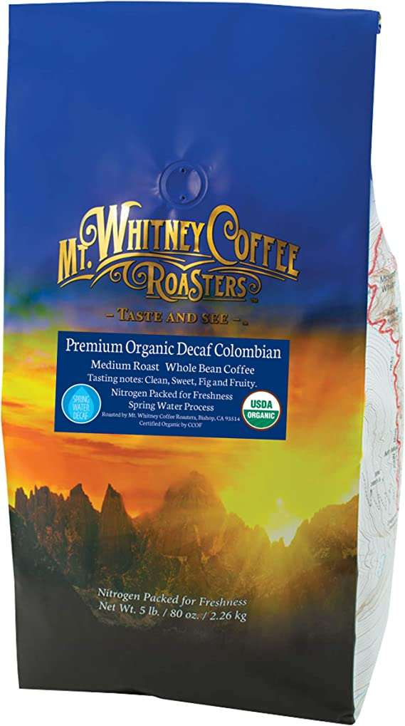Mt. Whitney Colombian Coffee Decaf