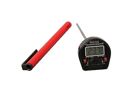 """Termómetro digital Thermco ACC330DIG, esfera """"sin rollo"""", longitud de tallo de"""