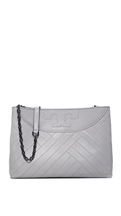 8837243176d Amazon.com  Tory Burch Alexa Slouchy Tote in Concrete  Clothing