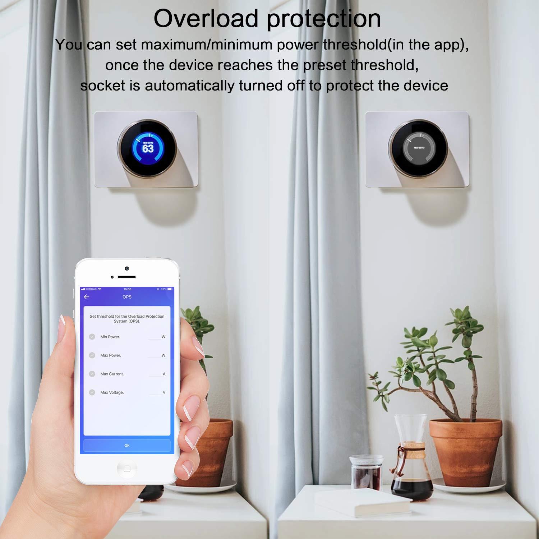 9-en-1 Destornilladores Interruptor Temporizador de Control Remoto Inal/ámbrico Inteligente Echo, Echo Dot y  Tap Sonoff Dual Smart Hogar 2 V/ías Wifi Smart Switch Para Alexa
