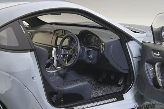 Amazon.com: Rocket Bunny Toyota 86, Concrete Grey/Black Wheels: AutoArt: Automotive