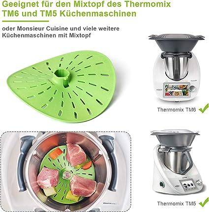 AIEVE - Cubierta para cuchillo, accesorios, compatible con Thermomix TM6 TM5, repuesto para robot de cocina Sous-vide y Slow Cooking: Amazon.es: Hogar