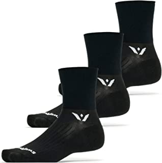 product image for Swiftwick- ASPIRE FOUR (3 Pairs) Cycling & Trail Running Socks, Compression Fit