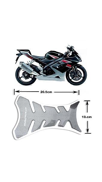 Electroprime black carbon fiber new motorcycle tank pad sticker international bazaar