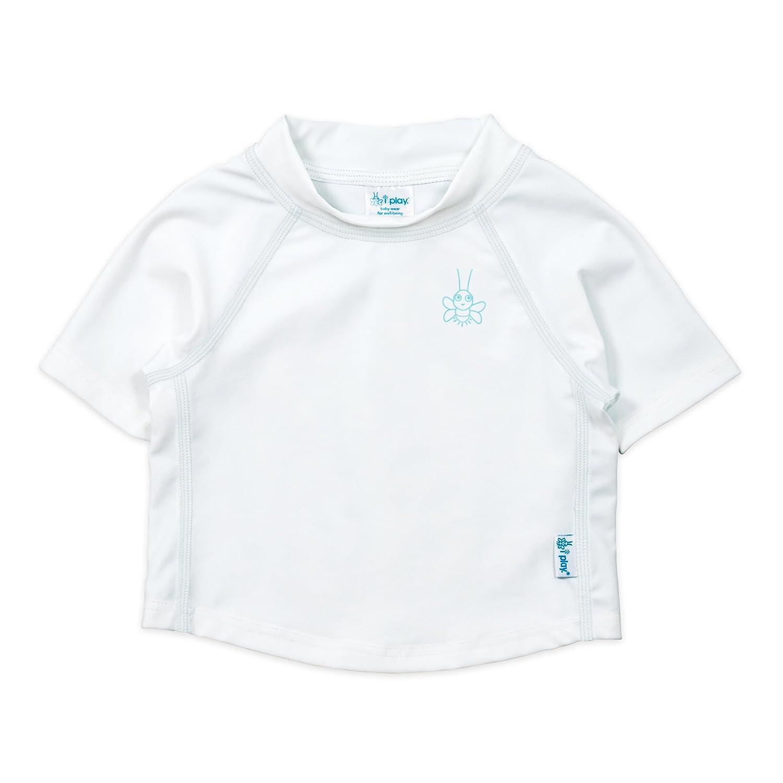 i play. Unisex Baby Rashguard (Baby/Toddler) - White