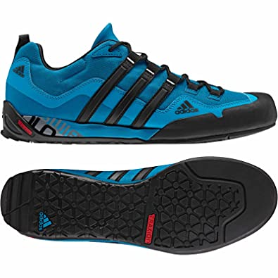 99bf23ba3d1 Adidas D67033 Men s Terrex Swift Solo Tribe Blue Black Footwear 9.5  UK SIZE