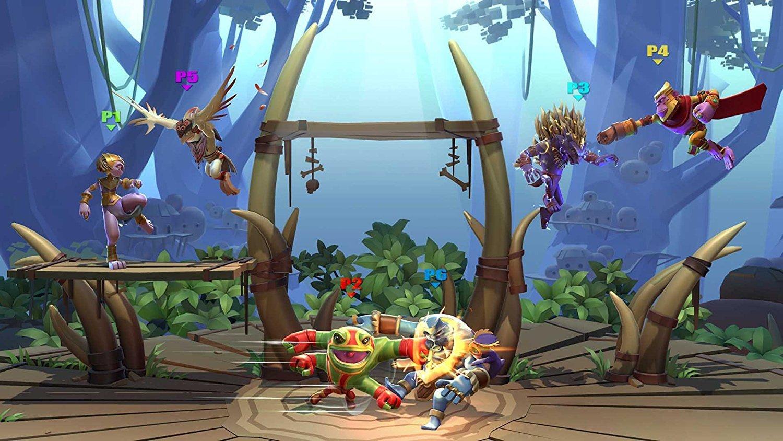 Brawlout video game Nintendo [Importación francesa]: Amazon ...