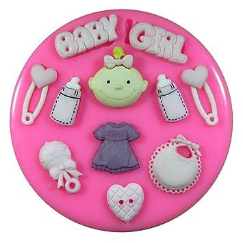 Baby Madchen Babyparty Silikon Form Fur Kuchen Dekorieren Kuchen