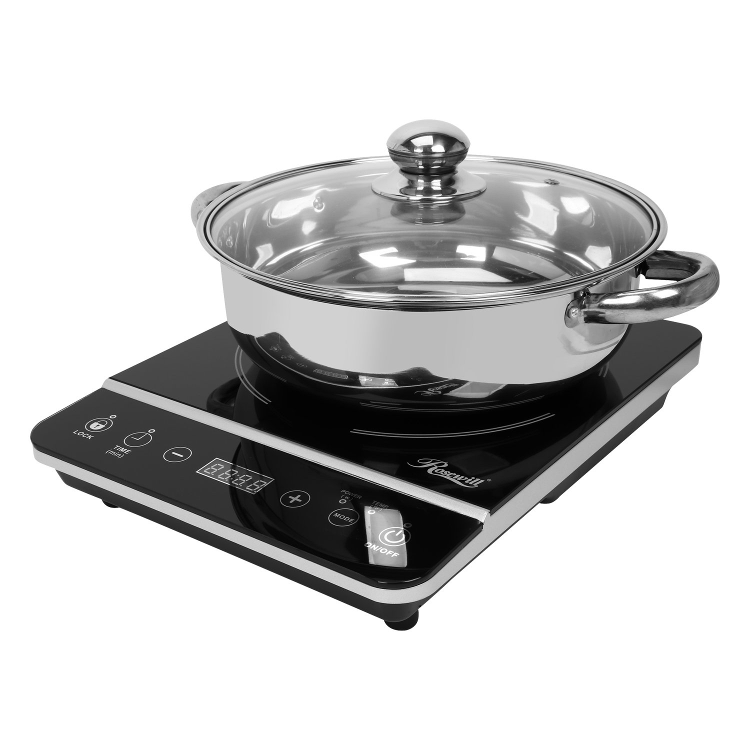 Cooktop with Stainless Steel P...
