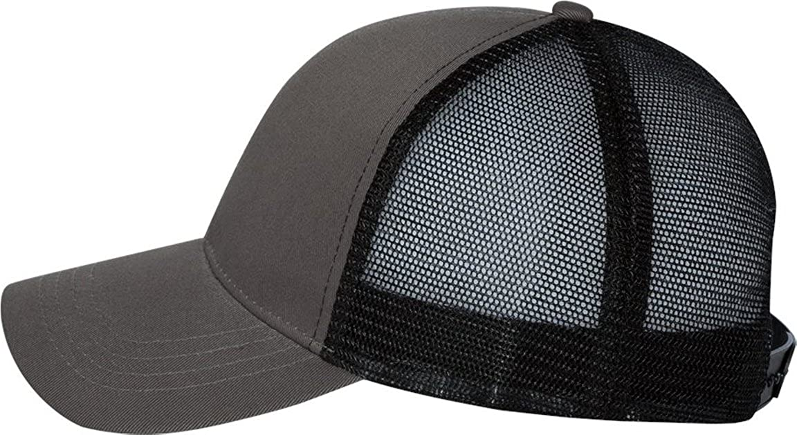 240e62b9725 Econscious - Trucker Cap - 7070 - Adjustable - Charcoal  Black at Amazon  Men s Clothing store  Baseball Caps