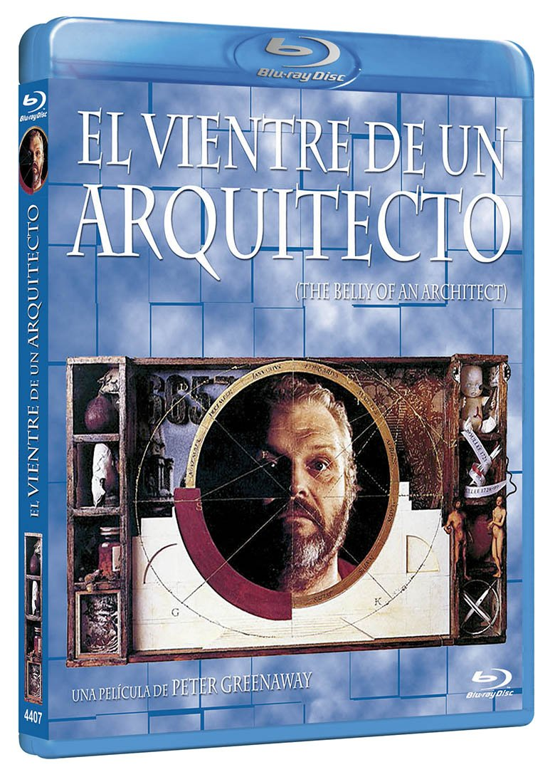 El Vientre Del Arquitecto Bd 1987 The Belly Of An Architect Blu Ray Movies Tv