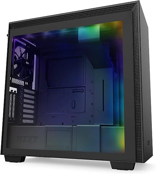 Nzxt H710i Atx Mid Tower Gehäuse Für Gaming Pcs Computer Zubehör