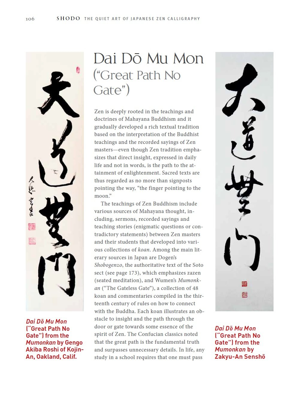 Shodo The Quiet Art Of Japanese Zen Calligraphy Amazon Co Uk