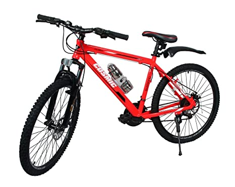 Cosmic Flash 26T 21-Speed MTB Bicycle (Red/White)