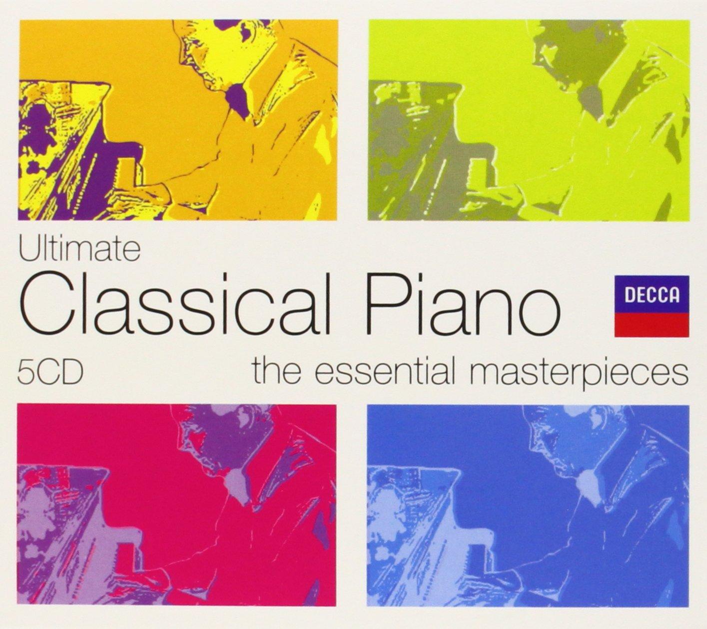 Ultimate Piano Classics [5 CD Box Set]