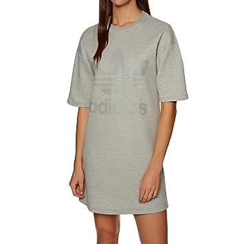 Adidas Dress Vestido de Tenis, Mujer, Gris (brgrin), 30