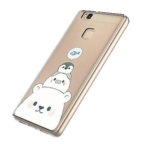 Funda Huawei P9 Lite, Carcasa Huawei P9 Lite Silicona Gel ...