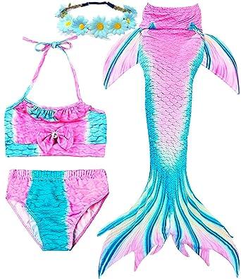 Amazon.com: Garlagy 3 piezas de traje de baño para niñas ...