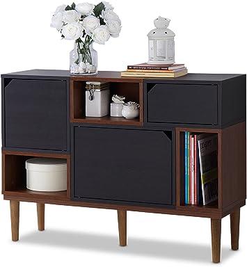 Amazon.com: Baxton Furniture Studios Anderson Aparador de ...