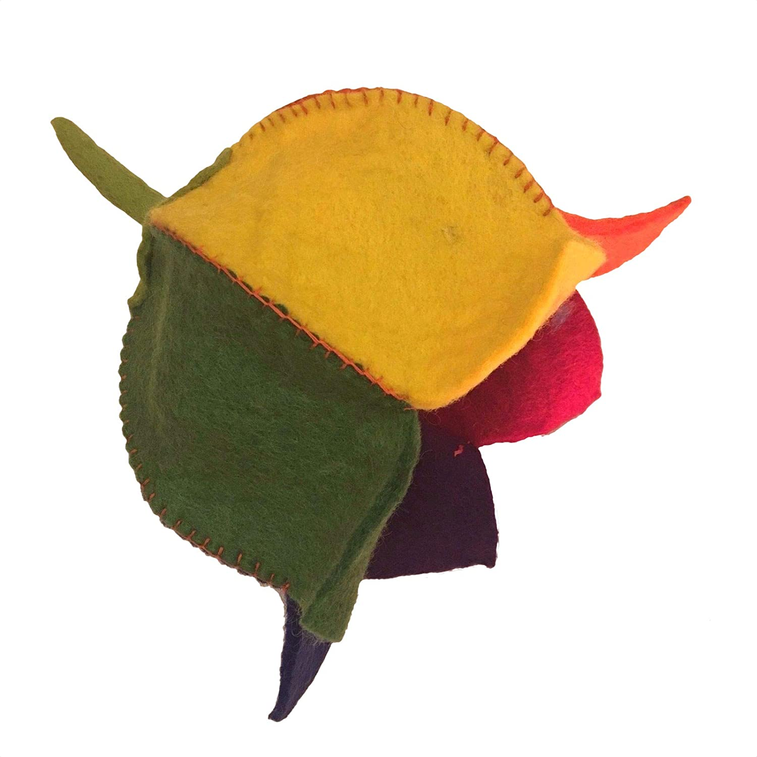 44592b02dc1 FELT HATS FRUIT STRAWBERRY PINEAPPLE ORANGE BANANA FLOWER HIPPY BOHO  FESTIVAL DL (Banana Yellow)  Amazon.co.uk  Clothing