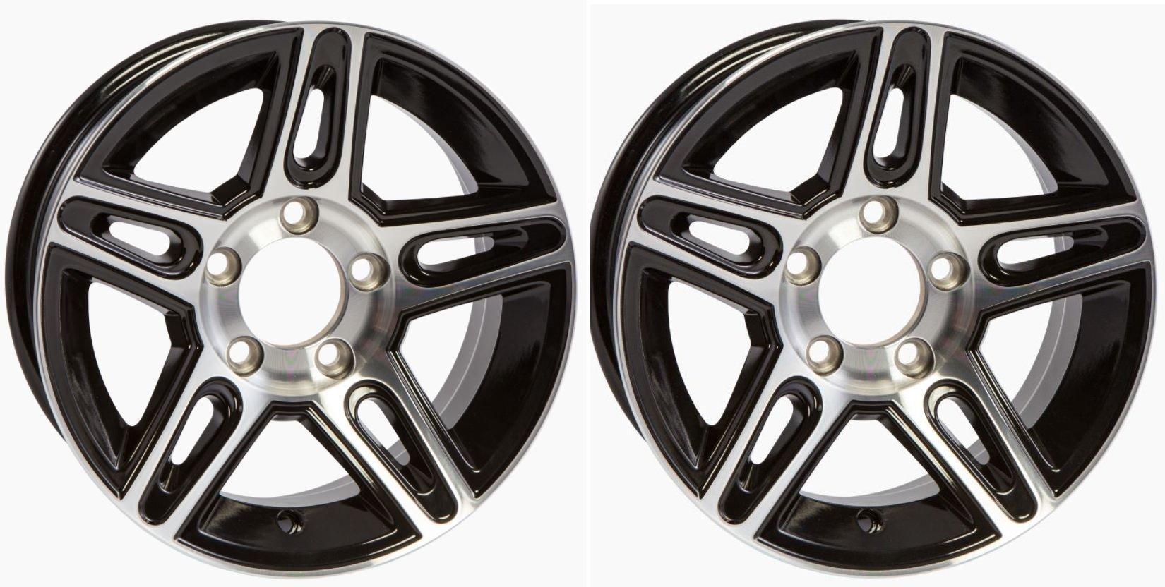 eCustomRim-2-Pack-Aluminum-Trailer-Rims-Wheels-5-Lug-13-in-Pinnacle-Black-Style