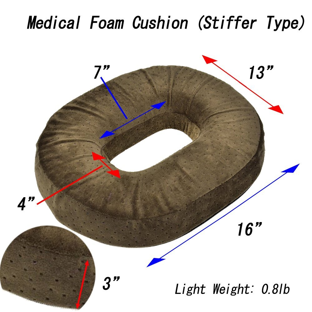 Amazon.com: JAPAN SOLUTIONS Hemorrhoid Treatment Donuts Seat Cushion ...