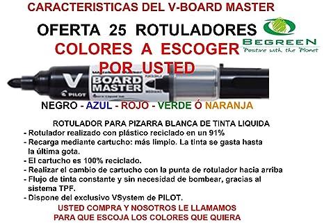 Rotuladores Pizarra Blanca Pilot V Board Master Recargables ...