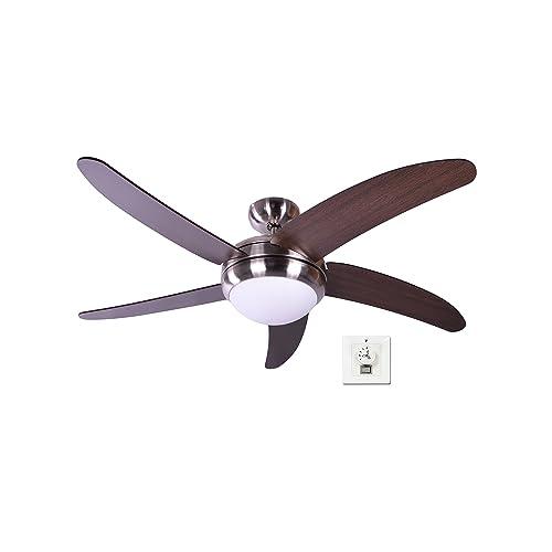 Pepeo GmbH Makkura Ventilador de techo 65 W Marrón