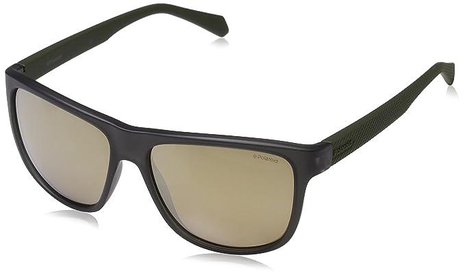 Polaroid PLD 2057/S LM DLD Gafas de sol, Verde (Matt Milgrn ...