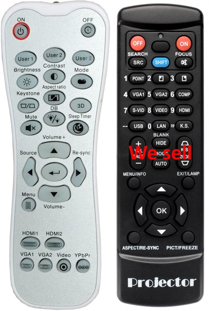 Optoma HD141 X proyector reemplazo mando a distancia: Amazon.es ...