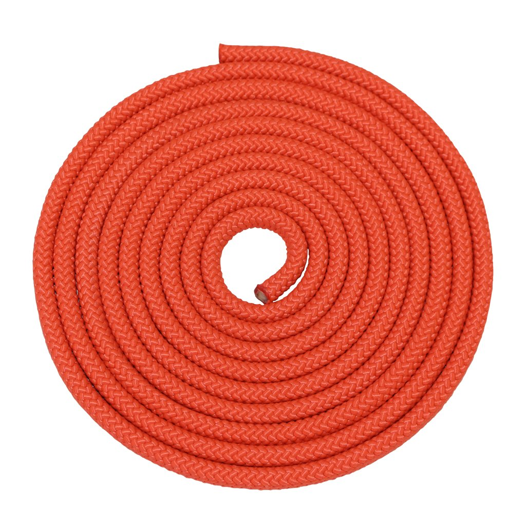 SGT KNOTS Nylon Rope Utility Rope (5/8 inch) Polypropylene Sheath - Moisture Resistant - for Crafts, Cargo, Tie-Downs, Marine, Camping, Swings (300 ft - Orange) by SGT KNOTS (Image #2)
