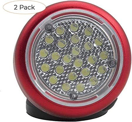 RT48-LTCH 48 Led Rechargeable Rotating Magnetic Work Light Ullman Devices Corp