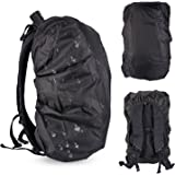 Waterproof Backpack Rain Cover, Ultralight Water Resistant Stored Bag Suitable for 30-40L Backpack, Rainproof Protector Pack Covers For Camping, Hiking, Climbing, Cycling Traveling Outdoor Activities