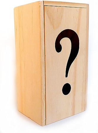 LOGICA GIOCHI – Caja ? - La Caja Secreta - Nivel De Dificultad Increíble 5/6 - Rompecabezas de Madera - Colección Leonardo da Vinci: Amazon.es: Juguetes y juegos