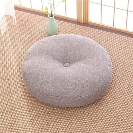 No Cojín Acolchado Lavable de Tatami futón Redondo de ...