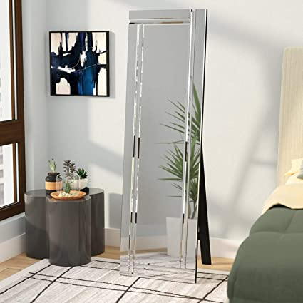 Amazon Com Simple Living Products Full Length Mirror Floor Length