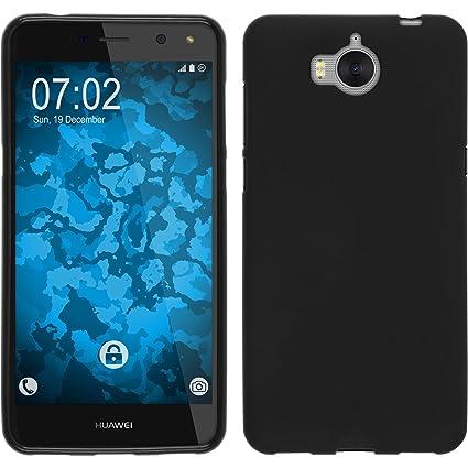 Amazon com: PhoneNatic Silicone Case for Huawei Y5 2017 matt Black