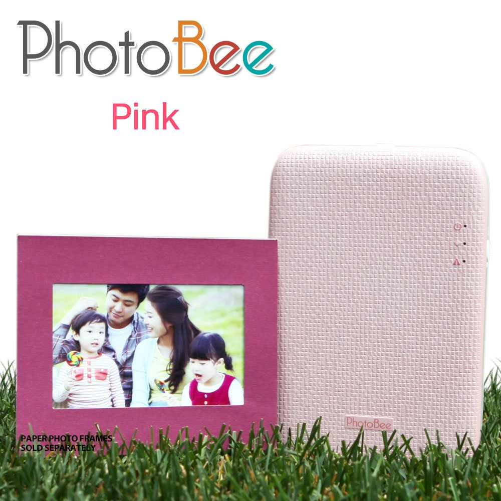 Photobee Portable Wifi Photo Printer - Pink