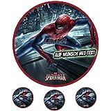 Fondant Tortenaufleger Geburtstag  Spiderman  T29 1