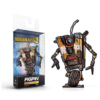 Figpin Mini Borderlands 3 Claptrap Pin #M40: Toys & Games [5Bkhe0806833]