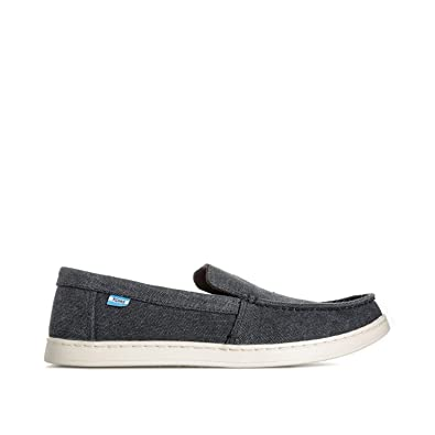 a1855ef14f4 TOMS Mens Mens Canvas Aiden Slip On Pump in Black - UK 6.5  Amazon ...