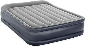 Intex Dura-Beam Series Pillow Rest Raised Airbed with Internal Pump (2021 Model)