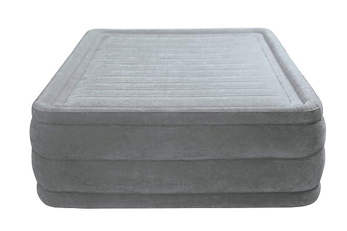 Intex 64418 - Colchón hinchable Dura-Beam Plus ComfortPlush 152 x 203 x 56 cm