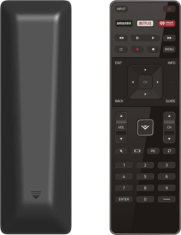 New XRT122 Remote fit for Vizio TV D24-D1 D28H-D1 D32-D1 D32X-D1 D39H-D0 D70-D3 E32-C1 E32H-C1 E40X-C2 E43-C2 E48-C2 E50-C1 E55-C1 E55-C2 E60-C3 E65-C3 E65X-C2 E70-C3